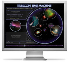 Telescope Time Machine monitor