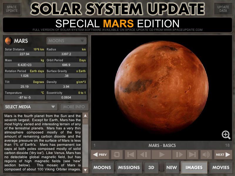 mars solar system information - photo #6